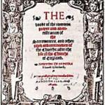 (6 - Γνώρισε το Κοινό σου) Αγγλικό ευχολόγιο του 1549.